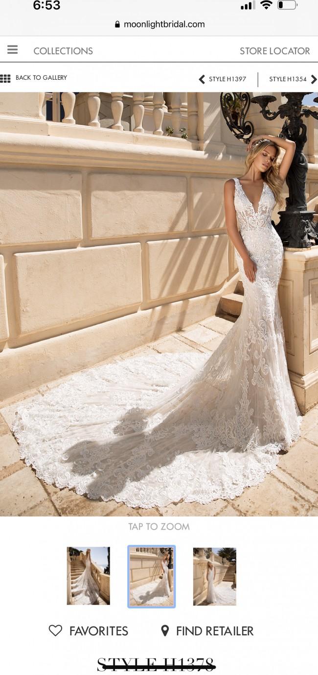 Moonlight Bridal H1378