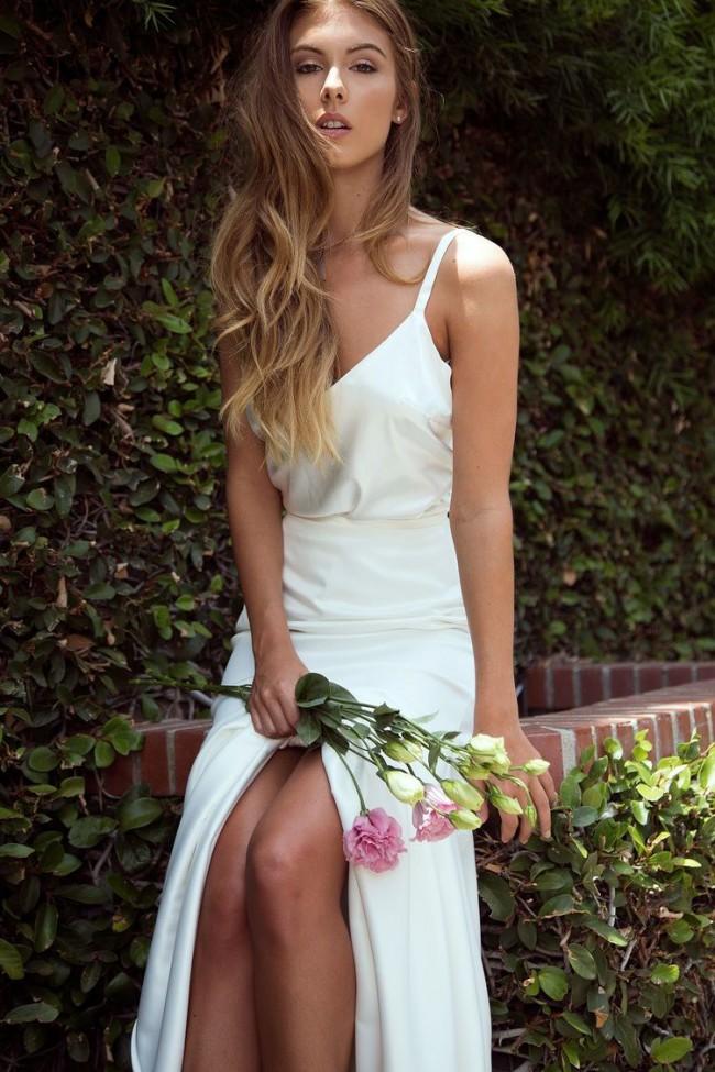 Marquise Bridal, Selena Silk Skirt & Cami