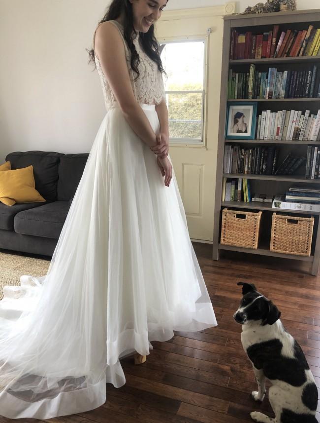 Lillian West Bridal Skirt Quinn 6442SK