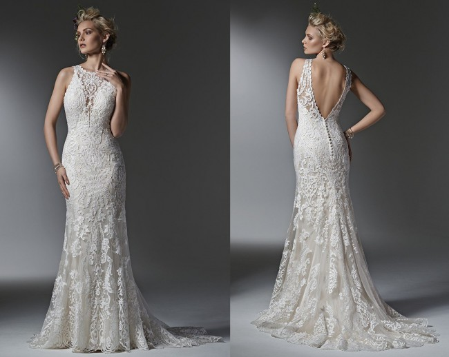 54181d2d Sottero and Midgley Winifred New Wedding Dress on Sale 37% Off ...