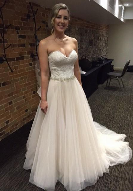 Allure Wedding Dresses.Allure Bridals 9269 Size 8