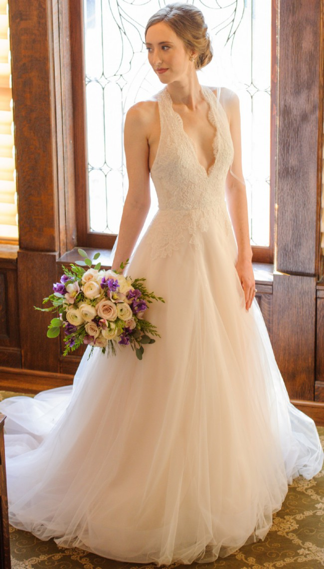 Anne Barge Blue Willow Bride, Style Azalea