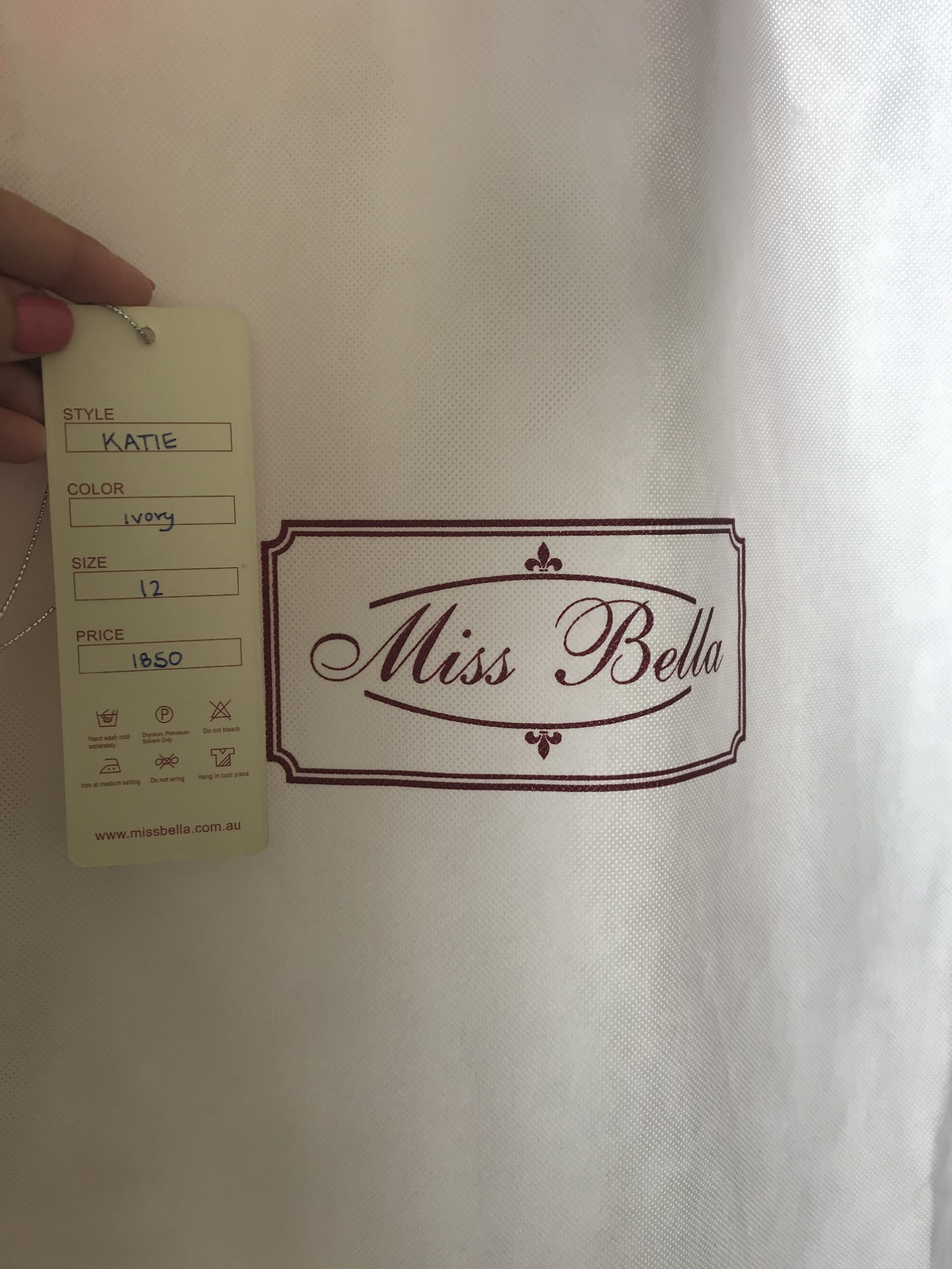 Bella ink miss Fabric Guide