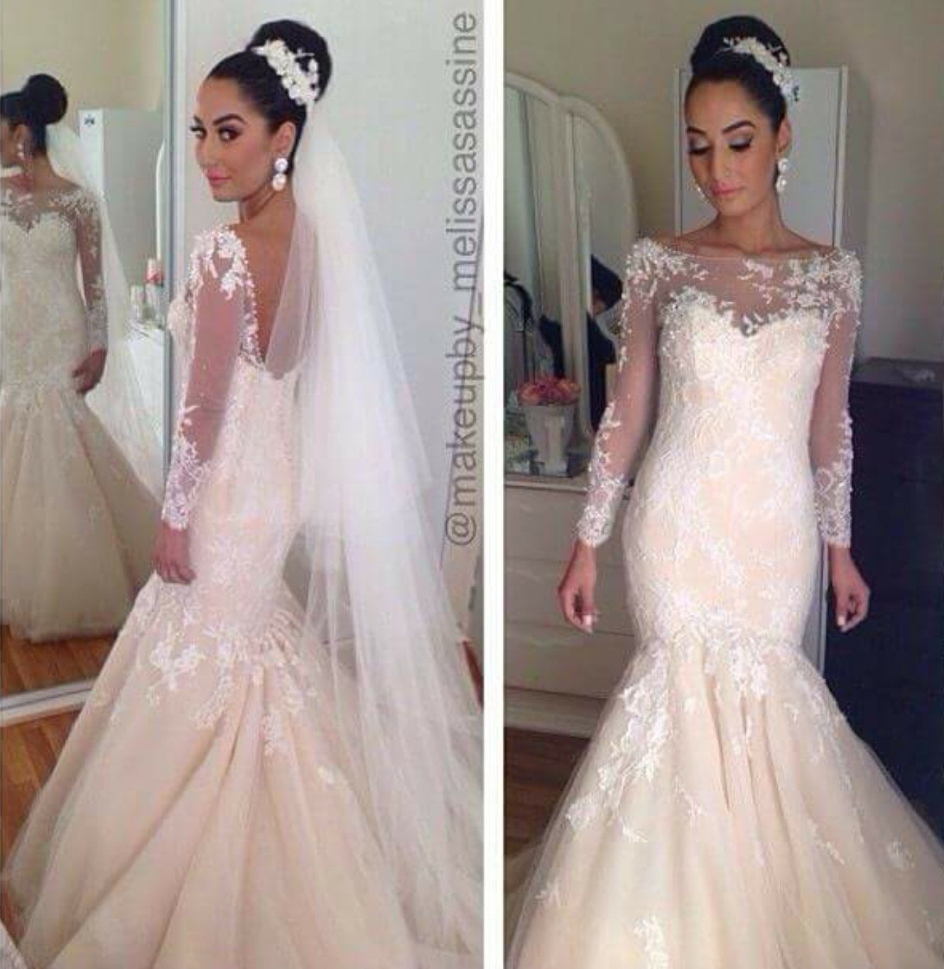 Preowned Wedding Gowns: Steven Khalil Used Wedding Dress On Sale 68% Off