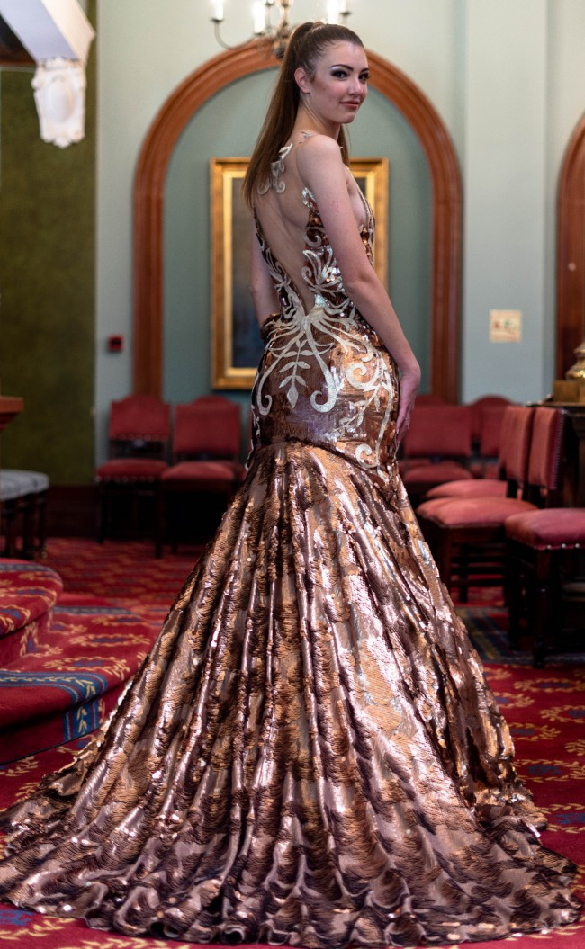 Yihan Bronn Couture Custom Made
