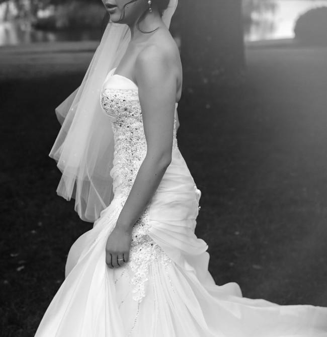 Octavia Preloved Wedding Dress On