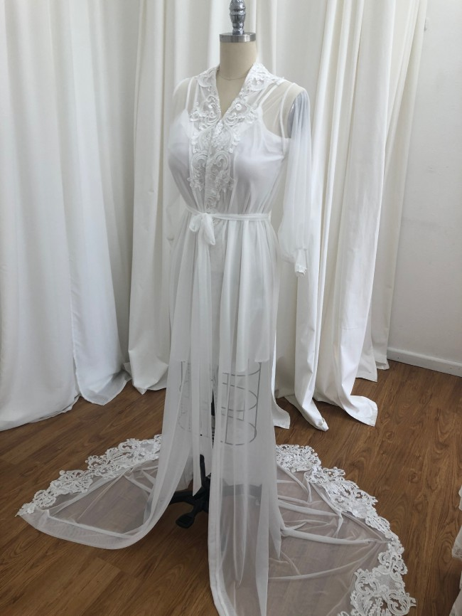 Amanda Barden Custom Made Bridal Robe