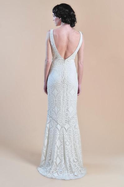 2ce7f37451b Claire Pettibone Madeleine Used Wedding Dress on Sale - Stillwhite