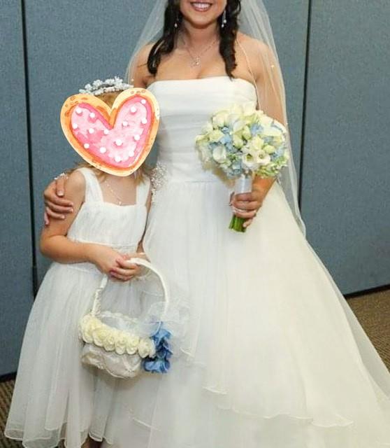 David's Bridal J9869