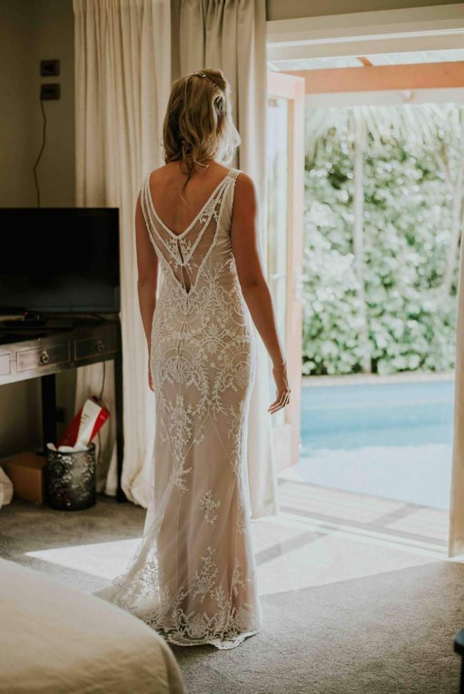 a0bb7ca2352 John Zimmerman Preowned Wedding Dress on Sale 42% Off - Stillwhite