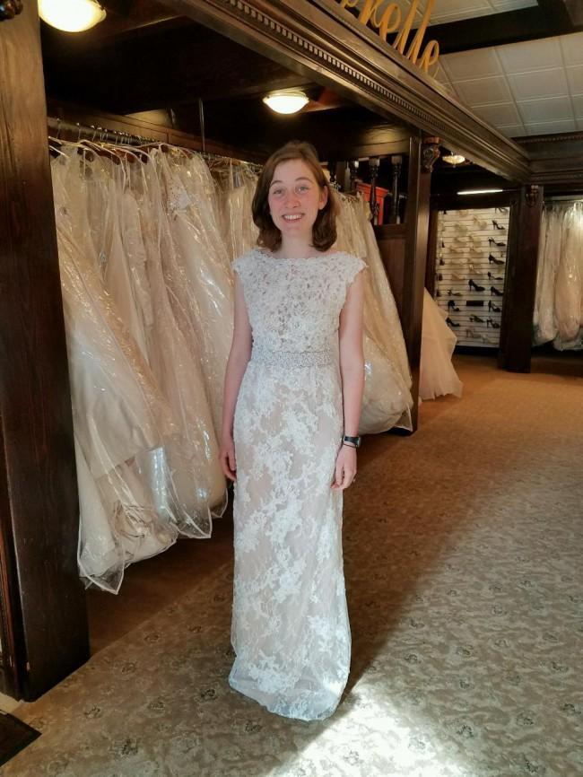 Sherri Hill Wedding Gown