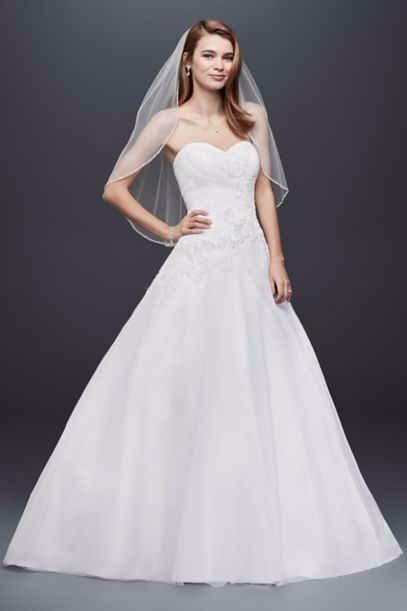 David's Bridal wg3740