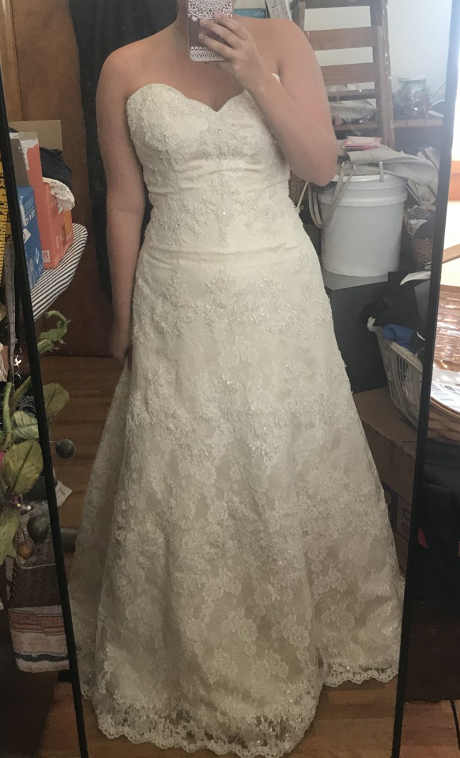 Alfred Angelo Sapphire 801