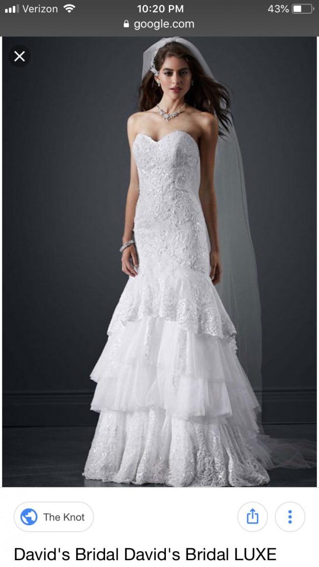 David's Bridal PWG3602