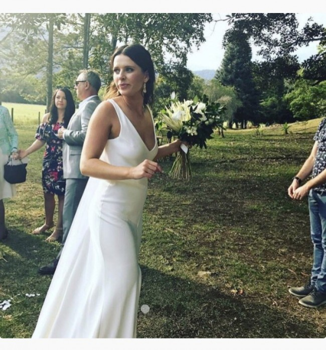 Helen English, Size 8, Custom Made Jolie Gown