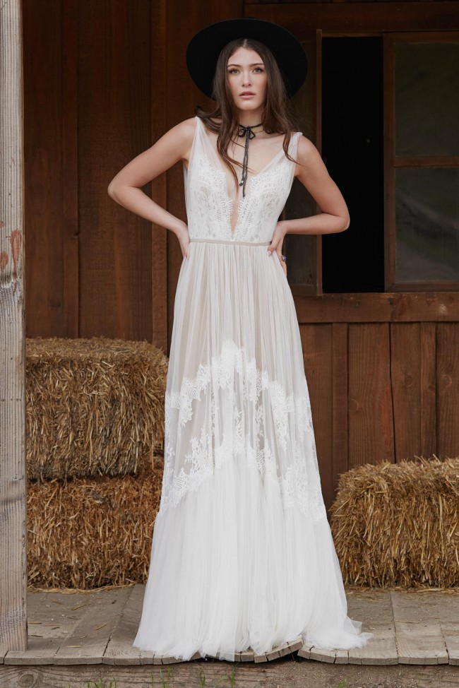 BHLDN, Willowby by Watters Betony Gown