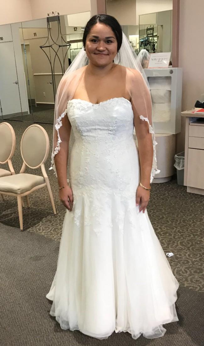 David's Bridal Melissa Sweet MS251005W