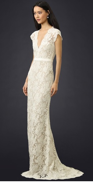 Reem Acra, REEMM20145/ I'm married lace gown