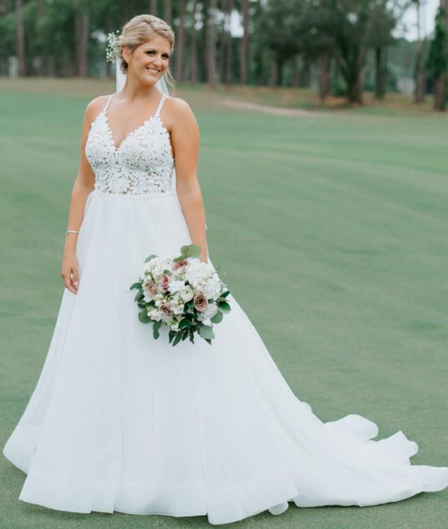 Mikaella 2158 Used Wedding Dress On Sale 54% Off