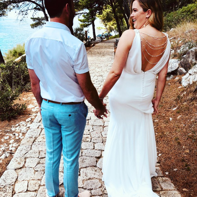 5e2035399350 La Sposa Palpito Second Hand Wedding Dress on Sale 53% Off ...