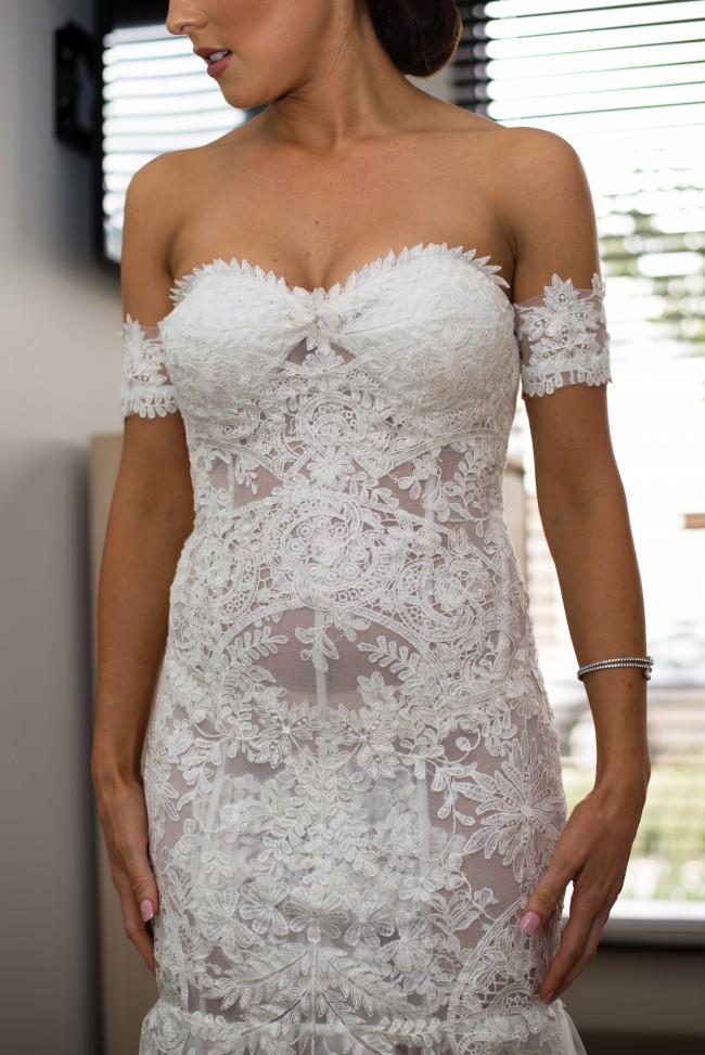 c48f934a02e Nektaria Custom Made Preowned Wedding Dress on Sale 76% Off ...