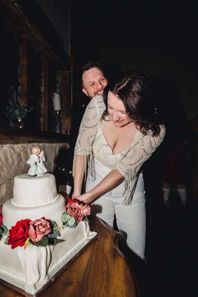 Virgos Lounge Bridal Jumpsuit