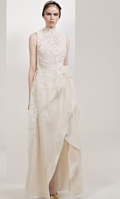 Carla Zampatti Pearl Lace La Belle Opaque Second Hand Wedding Dress