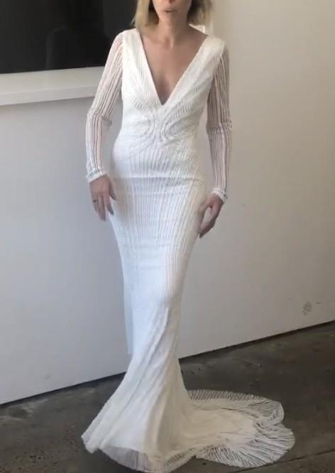 Rachel Gilbert, Lyla Sleeve Gown - SIZE 1 SOLD OUT AUSTRALIA WIDE