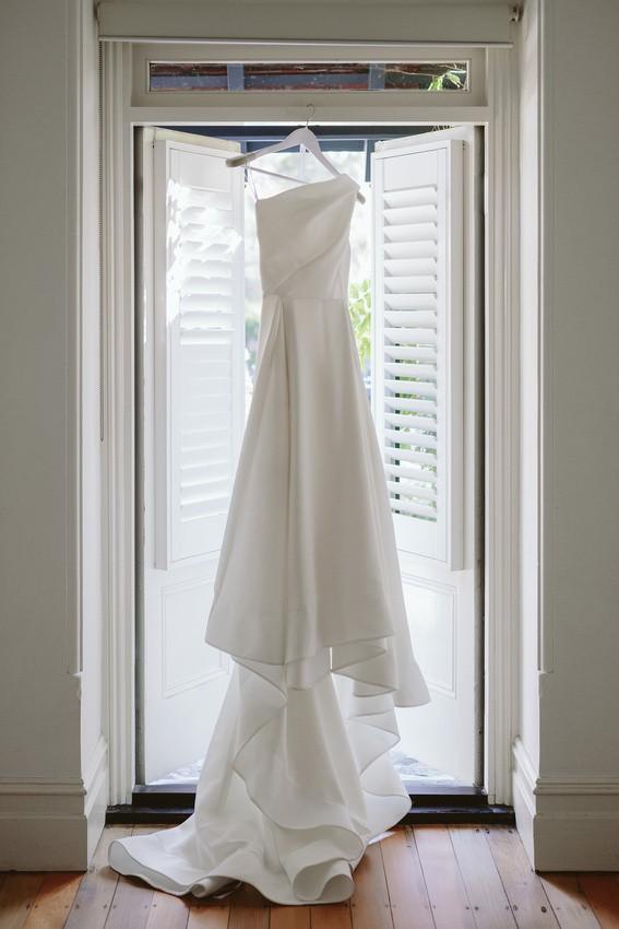 Toni Maticevski Forever One Shoulder Gown - Size 10 Fits 8-10