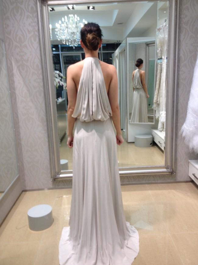 Aurelio Costarella Silver Lily Gown