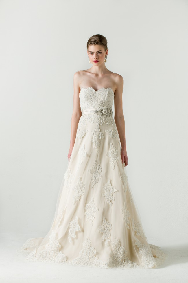 Anne Barge Betrothed gown