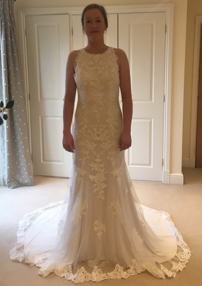 Maggie Sottero MS 249 769 Rhonda Ivory over soft pearl