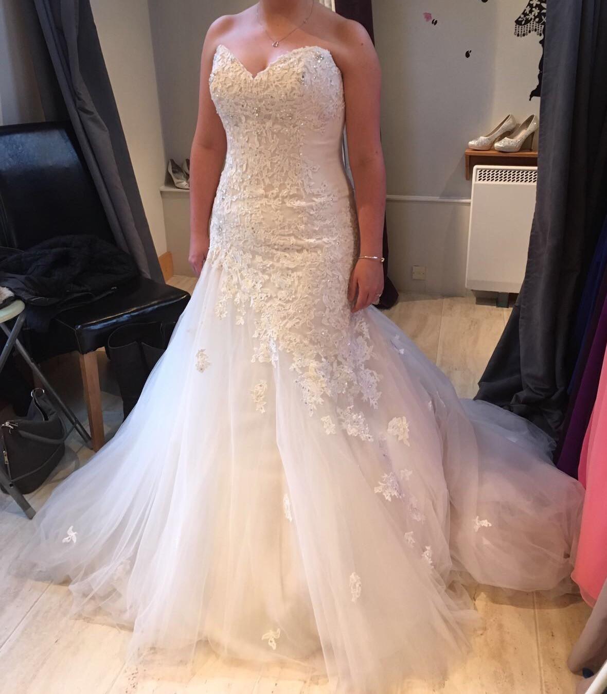 Sophia Tolli Jillian Y21246 New Wedding Dress On Sale 70