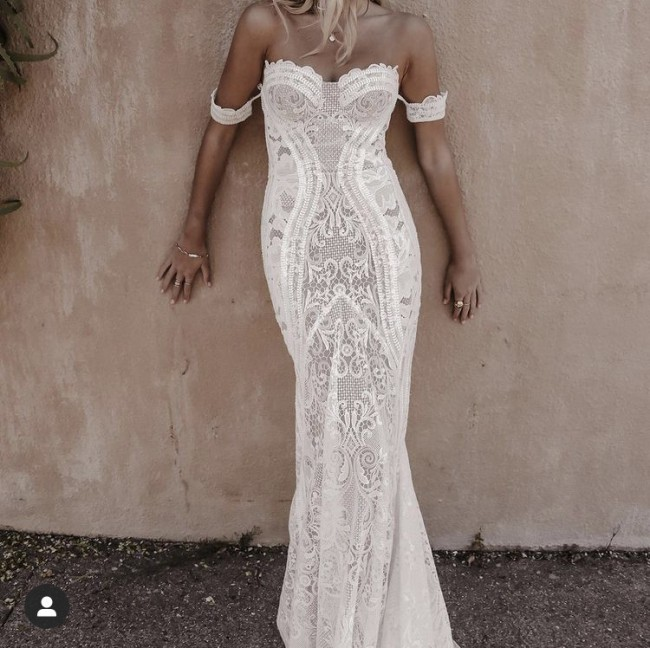 Lovers Society Byron Gown