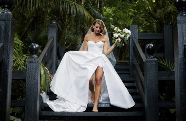 Karen Willis Holmes, Blake/Camille bespoke gown