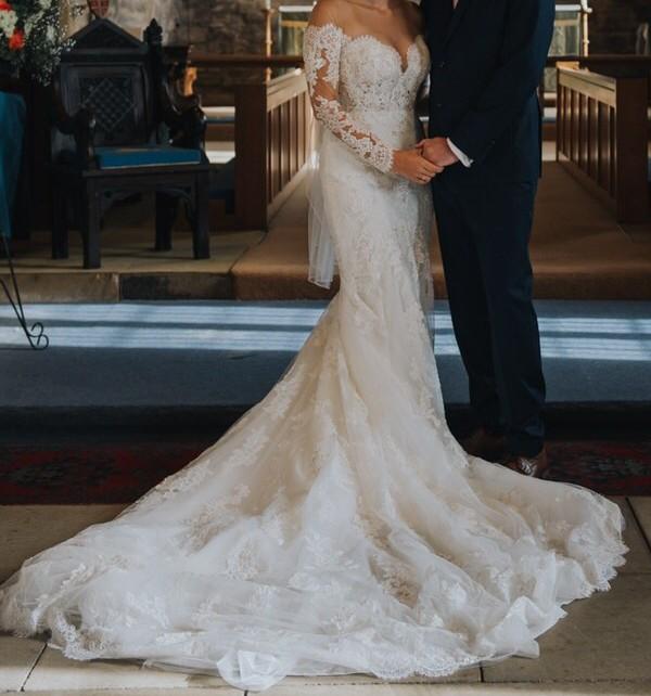 Pronovias Drilia Second Hand Wedding Dress On Sale 57% Off