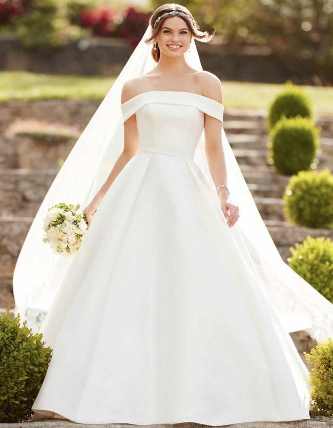 Essense of Australia Style D2716 Wedding Dress & Bridesmaids Dresses