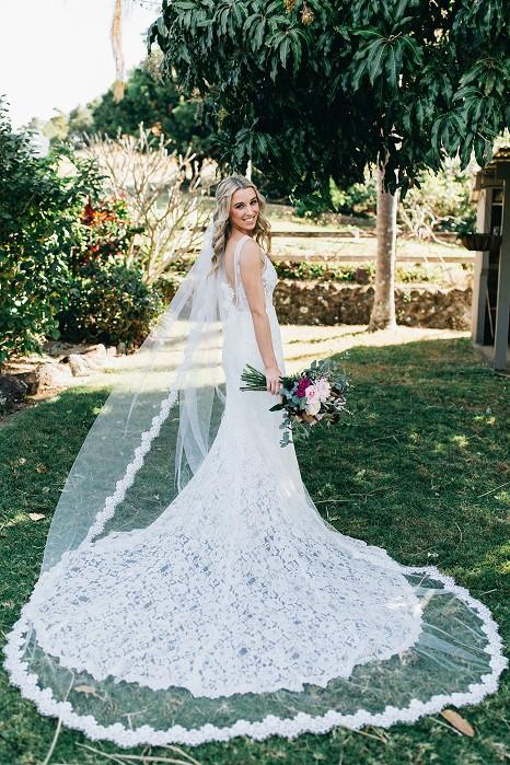 Made With Love Frankie dress AND custom-made veil