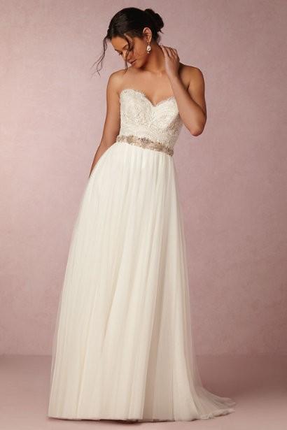 BHLDN, Amora skirt; Kinsey Corset top