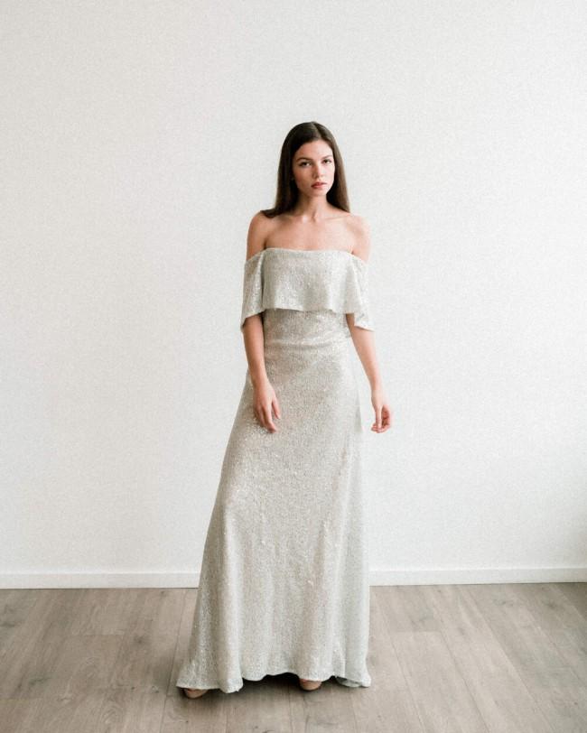 Claire La Faye If I fell (silver sequin)
