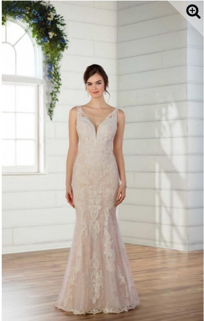Essense of Australia, LACE BOHO WEDDING DRESS