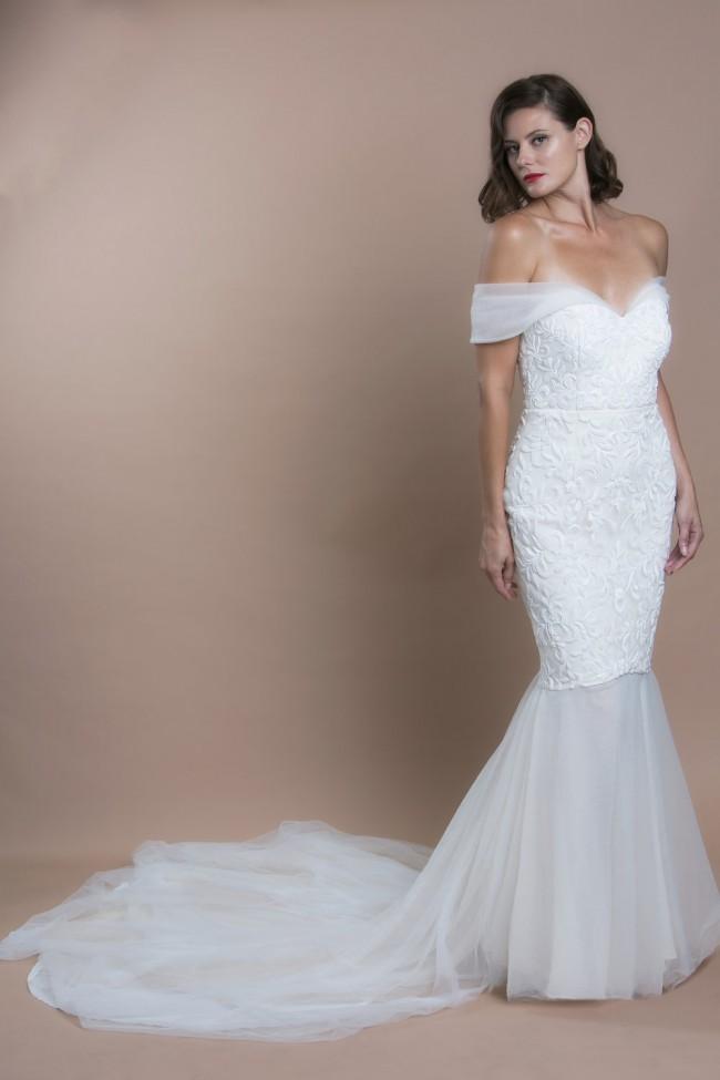 Trish Peng Violet Gown