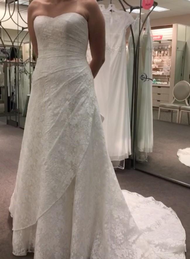 David's Bridal WG3805
