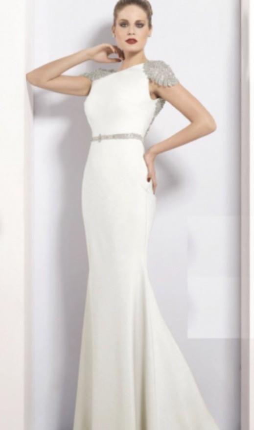 Tarik Ediz 92057 Second Hand Wedding Dress On Sale 67 Off