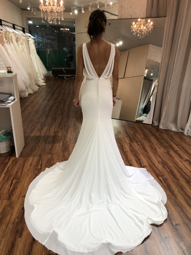 12a0f03a3357 La Sposa Palpito Second Hand Wedding Dress on Sale 57% Off ...