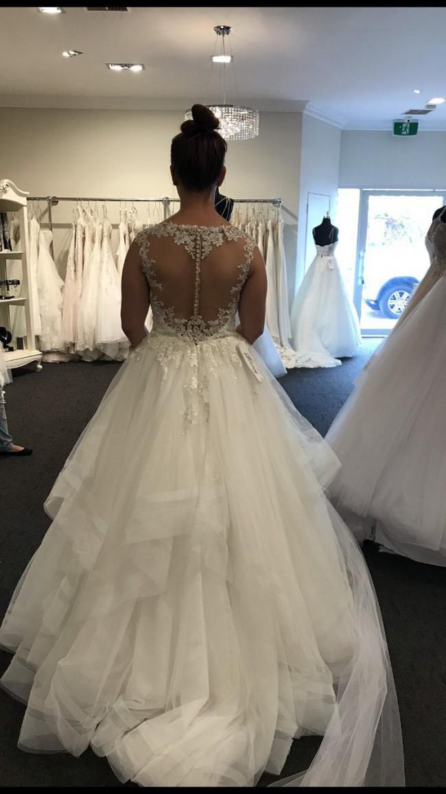71ea3cd1dc47 Stella York 6501 New Wedding Dress on Sale 43% Off - Stillwhite ...