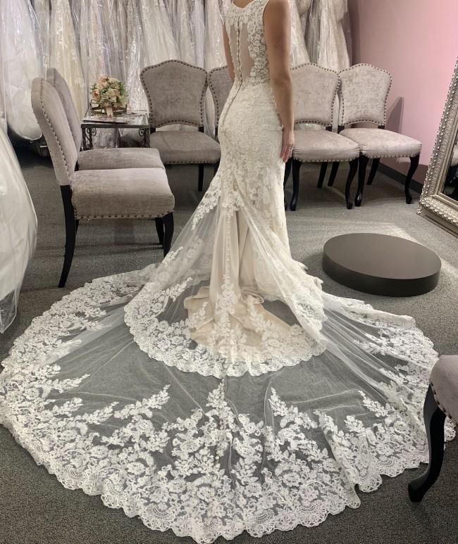 Mermaid Ivory Mermaid wedding dress