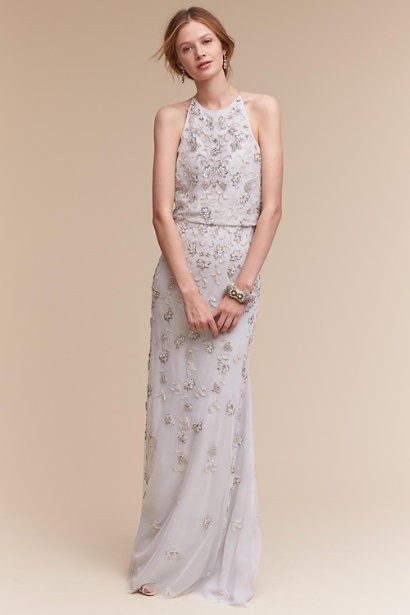 5254464f29d7e BHLDN Starling Used Wedding Dress on Sale 64% Off - Stillwhite