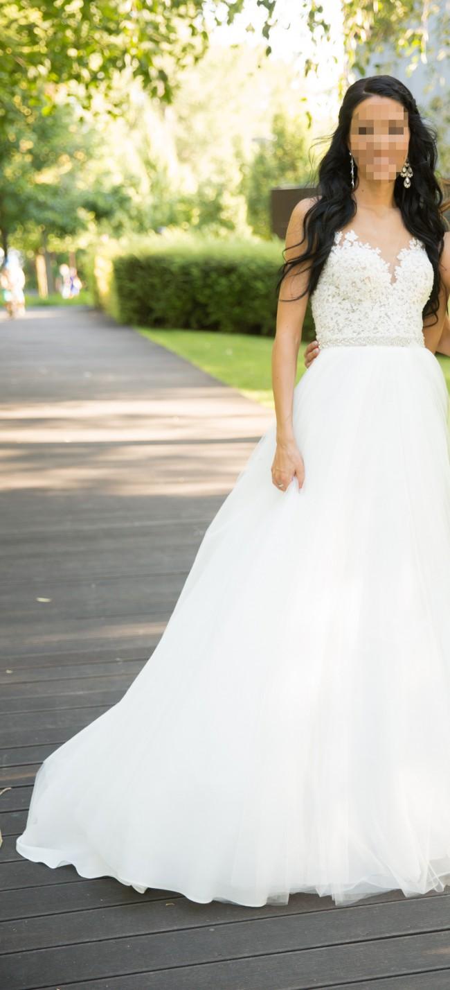 56f8731d8ebb Milla Nova Chelsi Second Hand Wedding Dress on Sale 76% Off ...