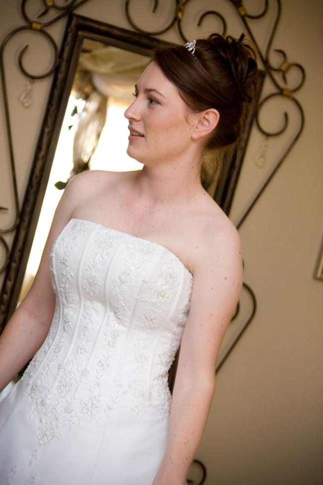 Bride & Co, David's Bridal V8822